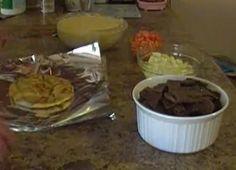 How to make TRUE Halifax donairs from scratch  -  2Lbs of ground beef  5 tsp bread crumbs  1 tsp of salt  2 1/2 tsp garlic powder  1 tsp black pepper  3 tsp oregano  1/2 tsp cayenne  4 tsp chicken soup base mix (dry)