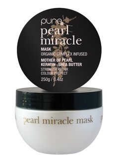 hairjamm, pure, pearl miracle mask, hair, haircare, mother of pearl, shea butter, keratin, sulphate free, paraben free, australian made, JuuceAustralia