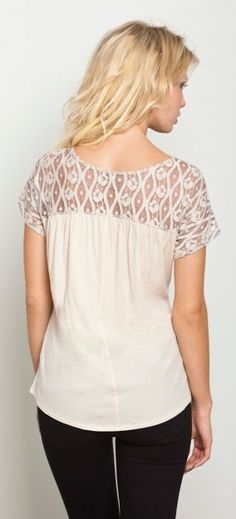 Addison Slouchy Top