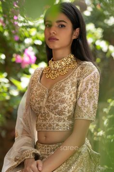 Buy Light Pink and Cream Raw Silk Bridal Lehenga Choli @ the best price from saree.com by asopalav Bridal Lehenga Choli, Special Occasion, Sari, Crop Tops, Pink, How To Wear, Women, Cream, Fashion