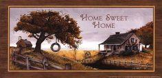 Home Sweet Home by Ed Wargo art print