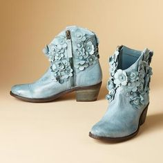 Blooming Boots from Sundance $210.00