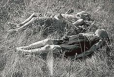 Finnish children killed by Soviet partisans at Seitajärvi in Finnish Lapland 1942
