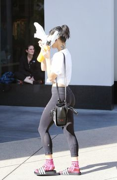 24 of November: Vanessa Hudgens and Stella Hudgens leaving Equinox GYM.