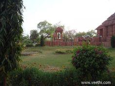 Park near the Sun Temple in Gwalior