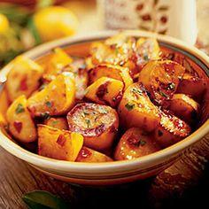 13 sweet potato dishes   Chili-glazed Sweet Potatoes   Sunset.com