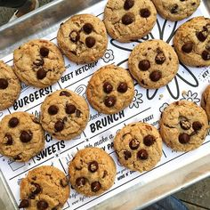 Had SO much fun riding @citibike with @thewellnecessities to @bychefchloe flatiron pre-opening, where we literally tasted every item on the menu 😍 and my girl, @sarahekoenig and I even walked out with an entire tray of delicious gluten chocolate chip cookies 🙊🍪😘 too good not to share!!😍