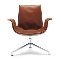 FK Chair / FK Lounge  Producer: Walter Knoll   Design: Preben Fabricius, Jörgen Kastholm