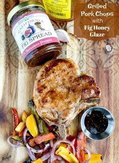 fig glazed pork chops dinner recipe  try it on tenderloin