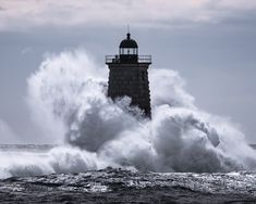 "As we gear up for yet another nor'easter, our director of photography, Ben Williamson, went through reader photos of last week's nor'easter and found these stunning captures. Ben said, ""I really love how we were all drawn to the ocean to document this in the first place. I think I can speak for all of us when I say that these were not easy captures."" Check out the rest of Ben's favorite reader photos from the storm."