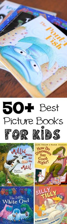 A great big list of stories that you will actually WANT to read to your kids. These are great!