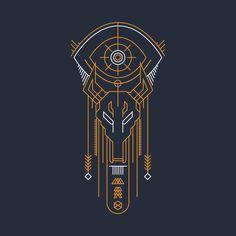 Curse of Osiris design on Egyptian Tattoo, Egyptian Art, Osiris Tattoo, Destiny Tattoo, Destiny Game, Geometry Art, Symbolic Tattoos, Anubis, Graphic Design Illustration
