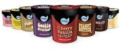 Ontwerp & concept tbv ijsbekers Choice Creamy Ice iov Boermarke door buro VH