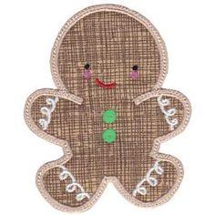Embroidery Design Set - Sweet Ginger Applique 14