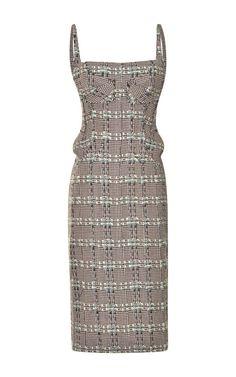 Fitted Tweed Dress by Thom Browne - Moda Operandi