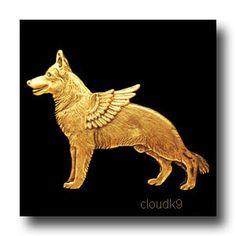 German Shepherd Garden Stake, Pet Memorial, Ornament ...