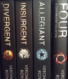 Another series of books I love are the dystopian sci-fi Divergent novels by author, Veronica Roth. I love the movies too!