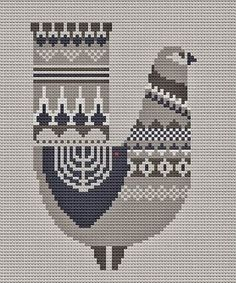 Cross Stitch Bird, Beaded Cross Stitch, Cross Stitch Animals, Modern Cross Stitch, Cross Stitch Charts, Cross Stitch Designs, Cross Stitching, Cross Stitch Patterns, Tatting Patterns