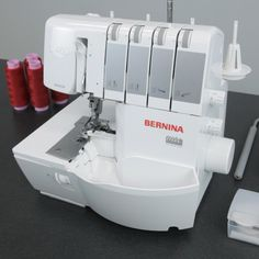 Showing your machines a little TLC is key to maintaining a trouble-free relationship. Jus like your sewing machines, your overlocker needs some regular cleaning and oiling. Find out more about cleaning your overlocker at WeAllSew. Sewing Hacks, Sewing Tutorials, Sewing Patterns, Sewing Tips, Techniques Couture, Sewing Techniques, House Cleaning Tips, Cleaning Hacks, Diy Hacks