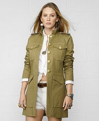 Military Walker Coat inspired by military-regiment styles. www.zappard.com