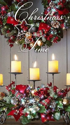 Merry Christmas Time everybody! Merry Christmas Gif, Christmas Scenes, Christmas Candles, Merry Christmas And Happy New Year, Christmas Images, Christmas Wishes, Christmas Art, Christmas Greetings, Beautiful Christmas