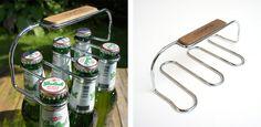 The Sixpack is a bottle carrier that can hold up to 6 beer, soft drink, or water bottles. It's perfect for those BYO dinner outings where a normal 6 pack gets destroyed after you rip out one beer. …