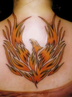 Like Tattoo: Beautiful phoenix tattoos design for girl