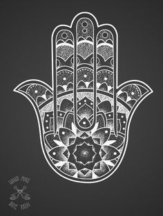 Hamsa tattoo 100%PAIN TATTOO STUDIO . JOIN! https://www.facebook.com/groups/1526764584213662/