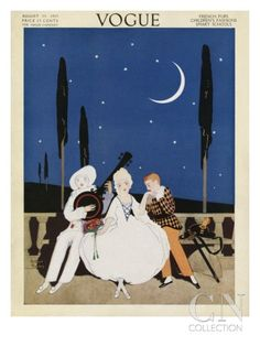 Vogue Cover - August 1913 Poster Print by Arthur Finley at the Condé Nast Collection