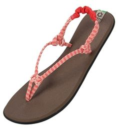 Sanuk Women s Rasta Knotty Sandal at SwimOutlet.com d5de62213