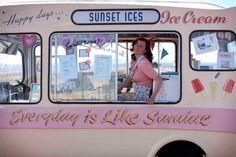 Ice cream van fonts via @torilancaster3
