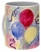 Balloon Fest Coffee Mug by Lynn Tolson