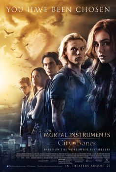 Review: MORTAL INSTRUMENTS: The City Of Bones (2013) | Starring Lily Collins, Jamie Campbell Bower, Kevin Zegers, Jemima West, Robert Sheehan, Godfrey Gao, and Jonathan Rhys Meyers. | Rating: 3 out of 5 | http://www.cherrydragon.net/2013/09/movie-review-mortal-instruments.html