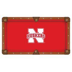 Nebraska Cornhuskers Pool Table Cloth