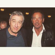 Robert DeNiro and Bruce Springsteen