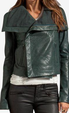 Veda Forest Green Jacket