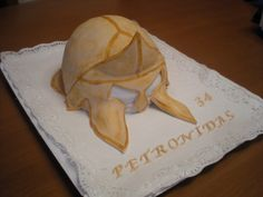 Tarta para el cumpleaños de un Espartano!! AAuuuuuu!!!