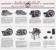 Gasoline and Kerosene Engines and Tractors   Print   Wisconsin Historical Society