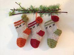 Christmas crochet stockings