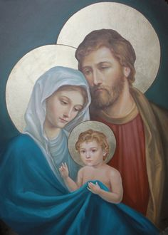 Holy Family by adriangi
