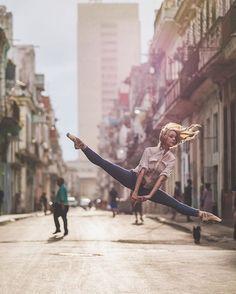 Happy #InternationalDanceDay ! Keep on Flying... On this photograph: Laura Tosar @lauratosar  #OZR_Dance    #🇨🇺💃   #Cuba