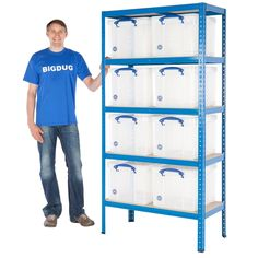 http://www.bigdug.co.uk/shelving-c2/value-shelving-c568/value-bay-with-8-really-useful-boxes-pp4442
