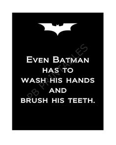 batman printable for the kids bathroom - Batman Printables - Ideas of Batman Printables - batman printable for the kids bathroom