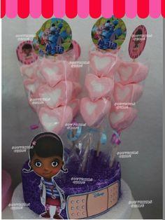 Brochettes dulces, Doctora juguetes. Golosinas personalizadas, Doctora Juguetes. www.facebook.com/souvenirs.chiru