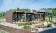 La maison de verre ou Glass House Kontio - Eco Maison Bois