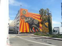 West Hollywood public parking lot