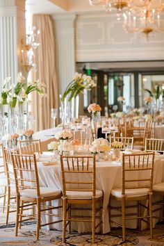 What a lovely reception setting #wedding #gold #blacktie #reception #chic