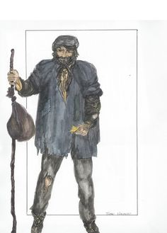 Clothing - do flat form, Jean Valjean Jean Valjean, Les Miserables Costumes, Theatre Costumes, Ballet Costumes, Musical Theatre, Cute Baby Costumes, Costume Design Sketch, Les Miserables 2012, Rendering Techniques