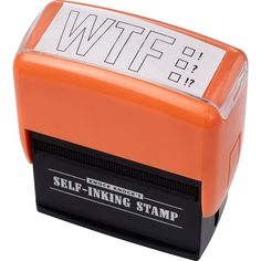 @Mandy Foster We could definitely get some use of this stamp in the office!