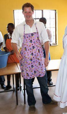 Prince Harry in Lesotho, Feb. 27, 2013
